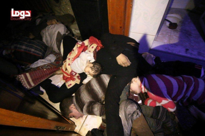Russia — Inspectors to Find Assad Regime Responsible for Douma Chemical Attack
