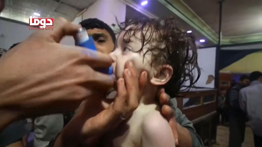 Syria Daily: 85+ Killed in Regime Chemical Attacks on Douma