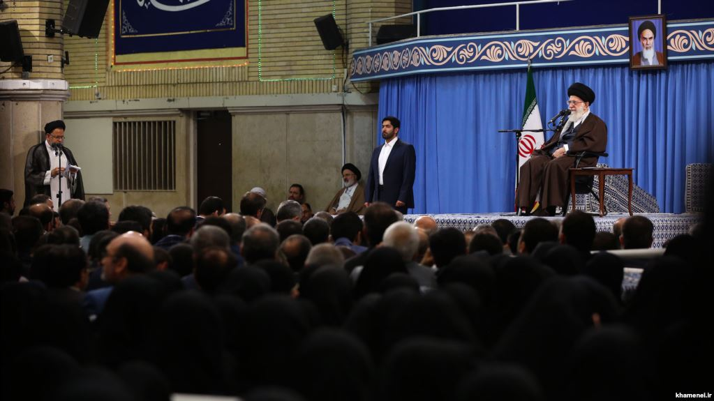 "Iran Daily: Supreme Leader Blames Currency Crisis on ""Enemy"", Calls for ""Intelligence War"""