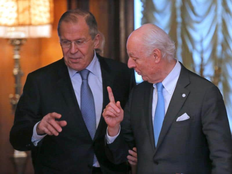 Syria Daily: Despite Chemical Attacks and Pro-Assad Offensives, UN Envoy Praises Russia