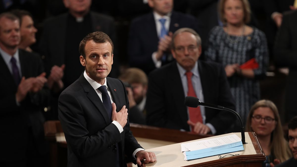 TrumpWatch, Day 461: Macron Rips Trump in Speech to Congress, Worries Over Iran Deal