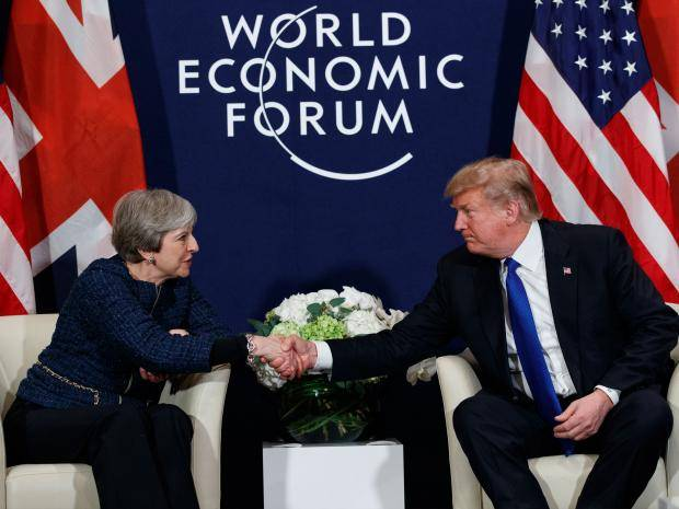 Podcast: Trump's Flying Visit to UK; The 2 Koreas Talk