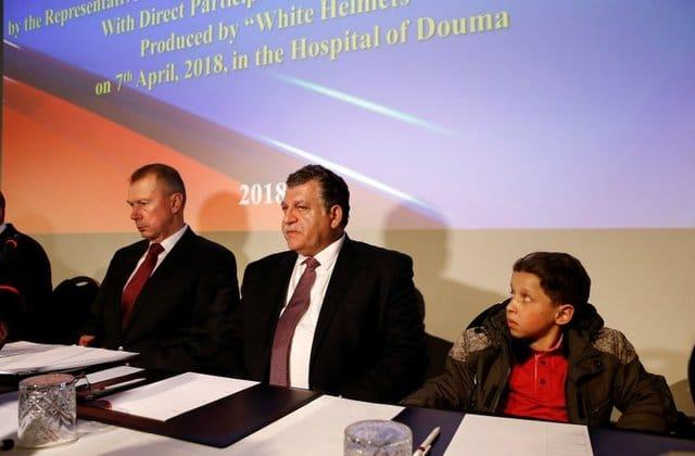 Syria Daily: Russia's Show Over the Douma Chemical Attacks