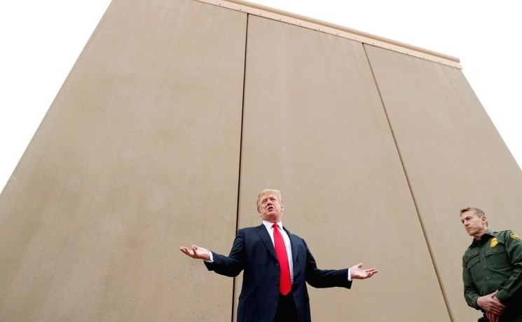 TrumpWatch, Day 855: Judge Blocks Trump's Wall With Mexico