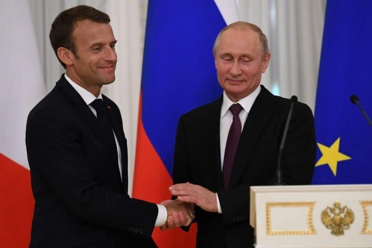 Syria Daily: France's Macron Discusses Cooperation with Russia's Putin