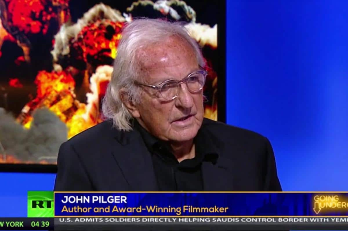 Fall of a Journalist: John Pilger and the Russia-Syria Disinformation Activists