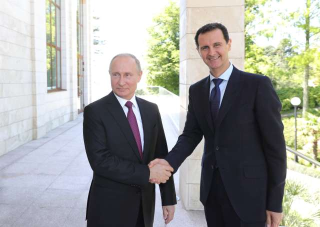 Syria Daily: Assad in Russia for Talks…About Partition?
