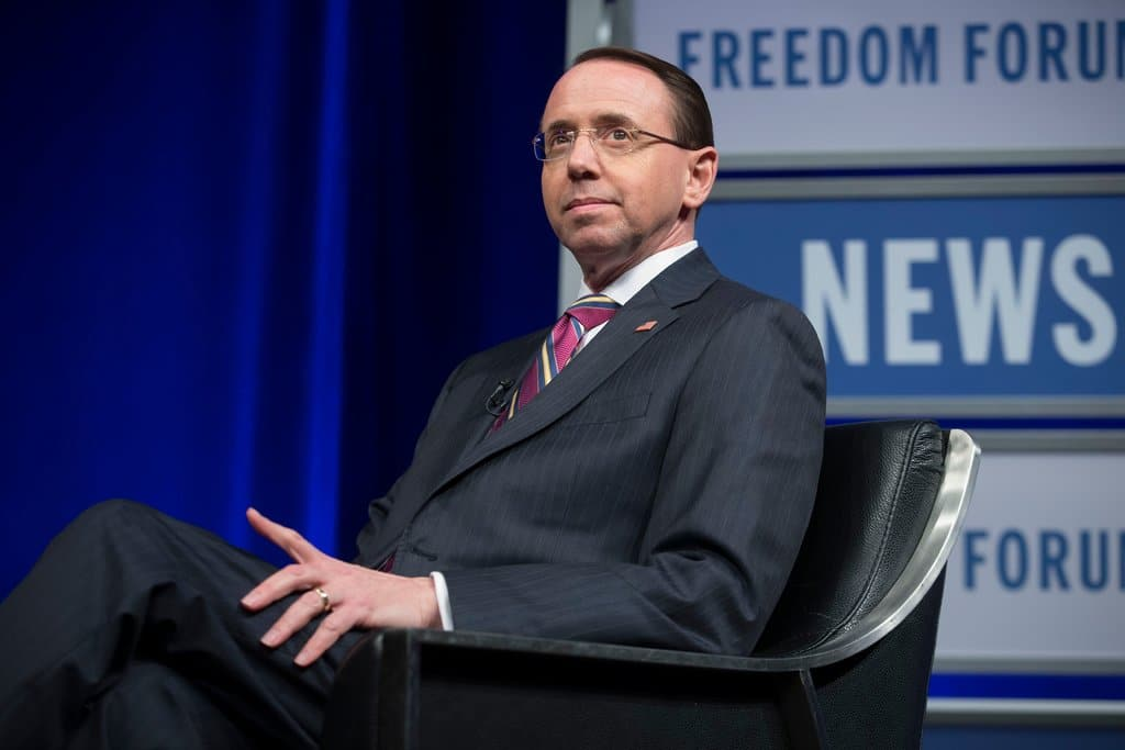 TrumpWatch, Day 467: Rosenstein Hits Back at GOP Pressure to Curb Trump-Russia Inquiry