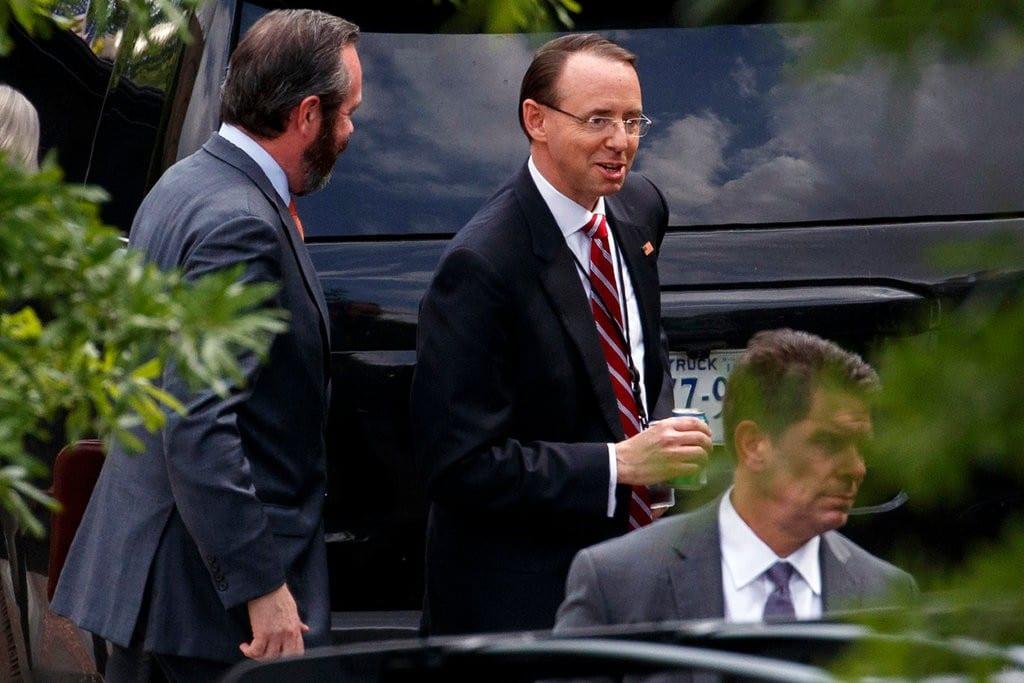 TrumpWatch, Day 487: White House Looks to GOP Legislators to Derail Trump-Russia Investigation