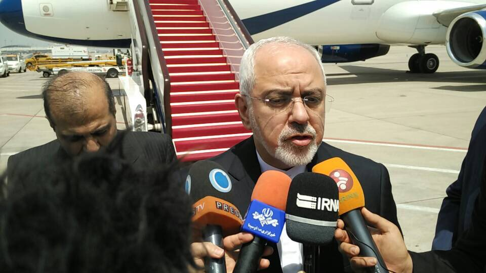 Iran Daily: Zarif Sets Off on Tour to Salvage Nuclear Deal After US Withdrawal
