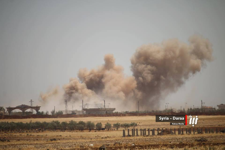 Syria Daily: Claims — Assad Regime Fires Missiles on Daraa City