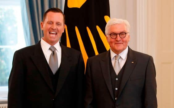 "Trump's Ambassador to Germany Breaks Diplomatic Neutrality — ""Empower Other Conservatives"""