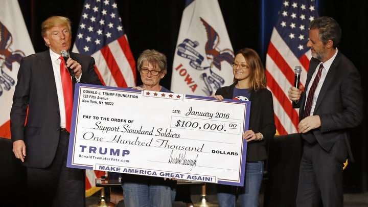 "Trump Foundation to Close After Lawsuit Over ""Shocking Pattern of Illegality"""