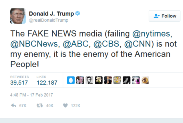 "TrumpWatch, Day 525: Gunman Kills 5 Members of Trump's ""Enemy of the People"""