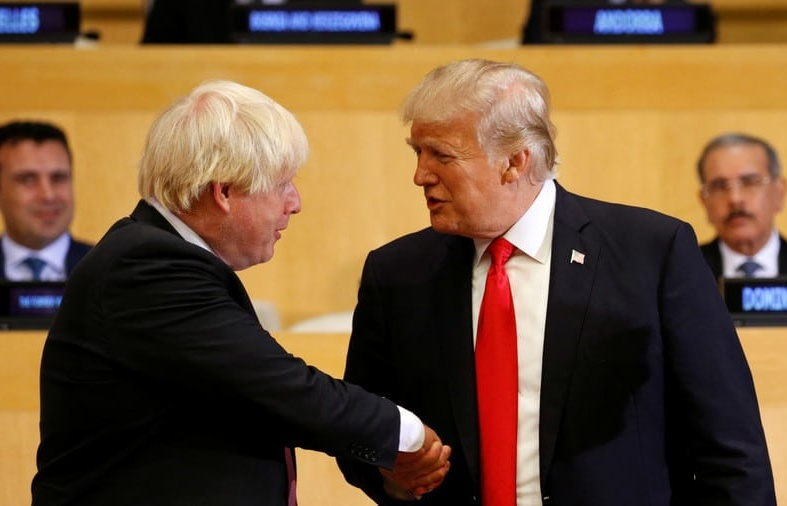 TalkRadio: Boris Johnson's Trump Tactics; Sweden's Election; Mike Pence Waits to Become President