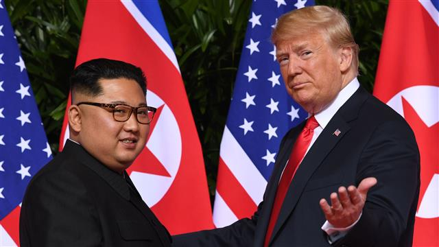 "TrumpWatch, Day 508: Trump Gets His ""Beautiful Photo"" With Kim"