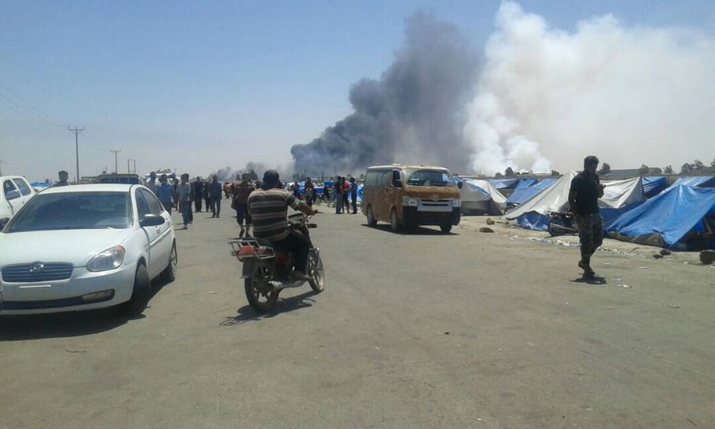 Syria Daily: Russia & Regime Renew Bombing of Daraa in South