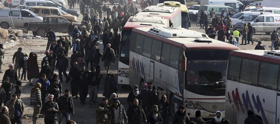 Syria Daily: Evacuation of 6,000 from Regime Enclaves in Northwest