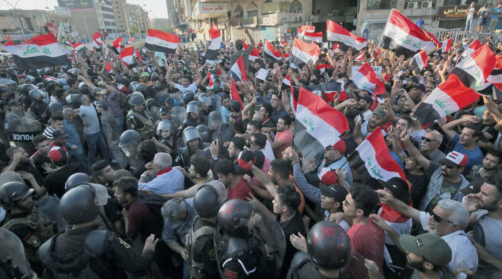 All About A Home: The Reasons for Iraq's Protests