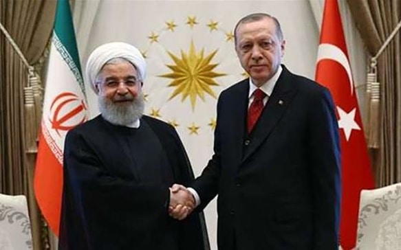 President Rouhani Appeals to Turkey's Erdoğan Over Economy and Trade