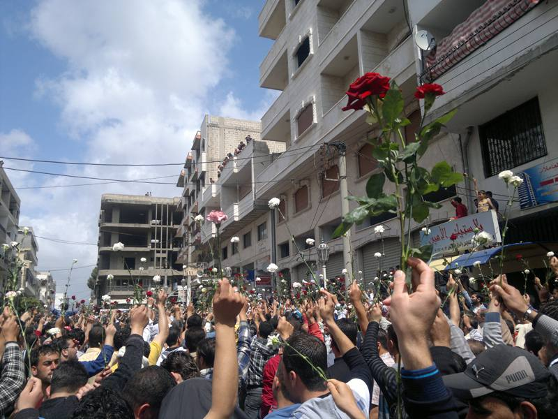 "How the Assad Regime Killed the ""Man With the Roses"": The Death of Activist Yahya al-Sharbaji"