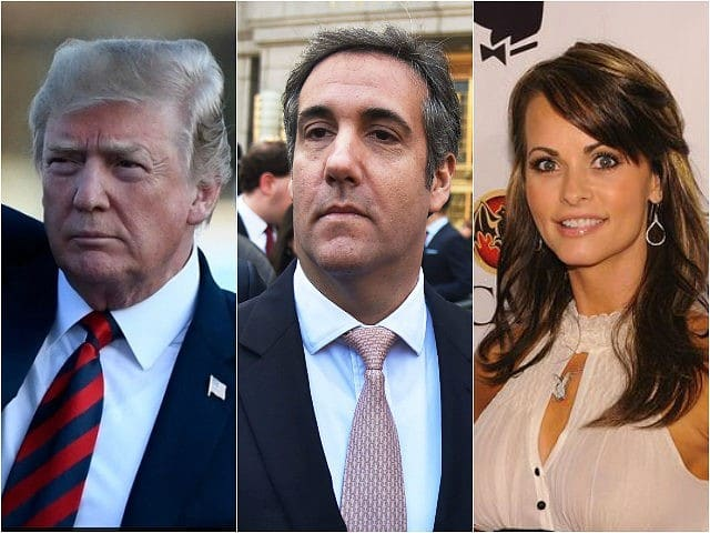 Cohen Audiotape Shows Trump Knew of $150,000 Payoff Over Affair