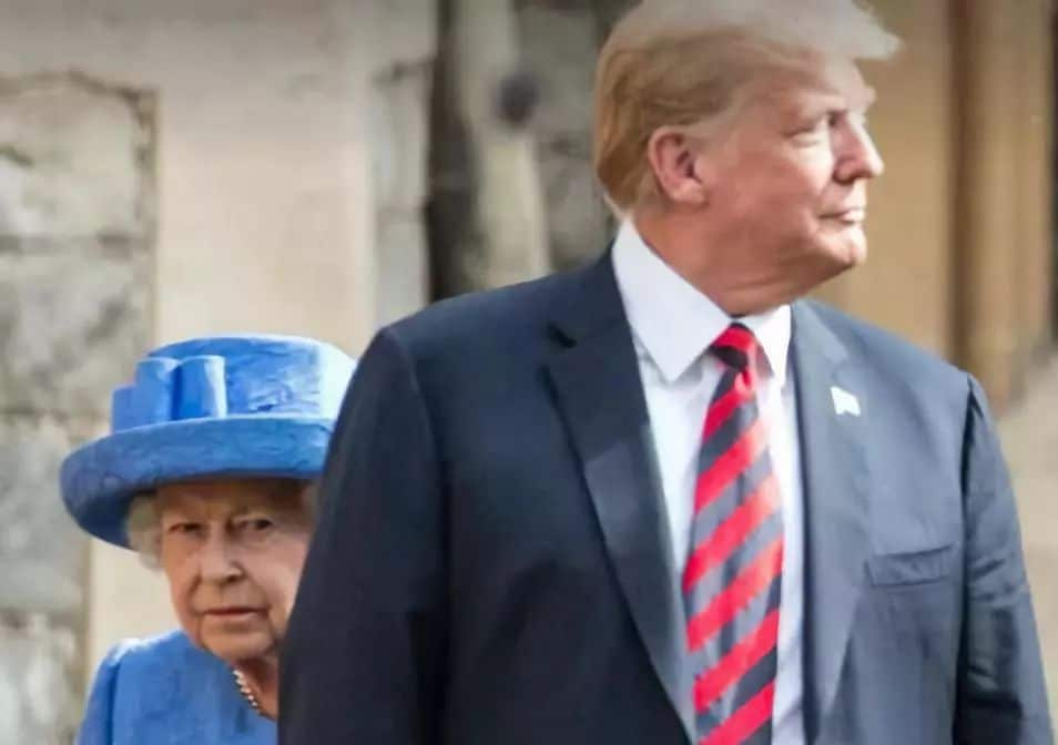 "UK Reels from Trump's ""Diplomacy"""