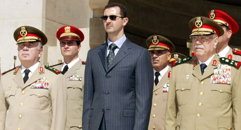 Assad Regime's Military Leaders and Torture of Syria's Detainees