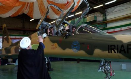 Iran Daily: President Rouhani Talks Tough In Front of a Jet Fighter