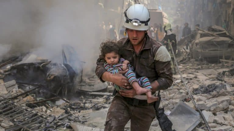 The White Helmets and the Long History of Attacking Humanitarians