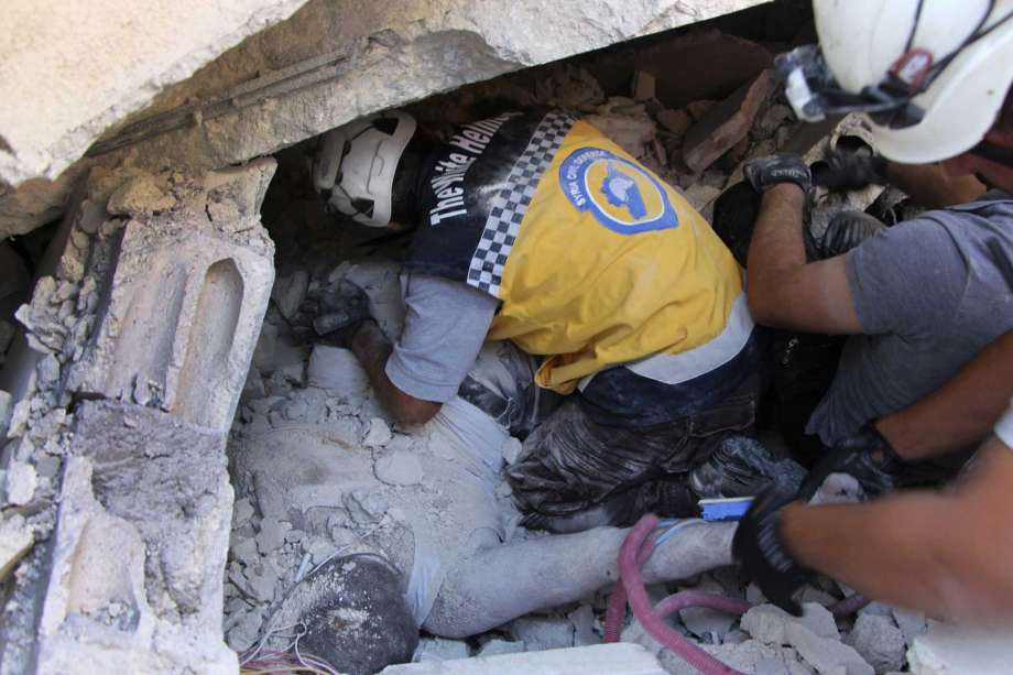 Why Assad's Apologists Think White Helmets Should Risk Being Detained and Killed