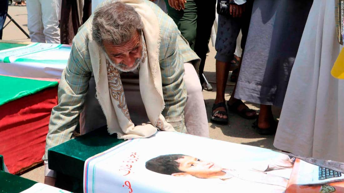 """""""They Were So Excited"""": Yemen's Schoolboys Killed by Saudi Airstrike"""