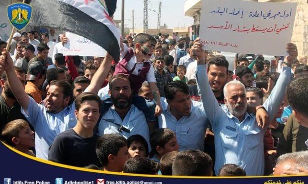Syria Daily: Free Syrian Police to Disband Amid Hardline Islamist Advance in Northwest