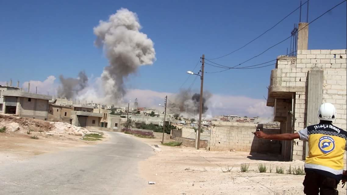 Syria Daily: Russia & Regime Continue Intense Airstrikes on Idlib