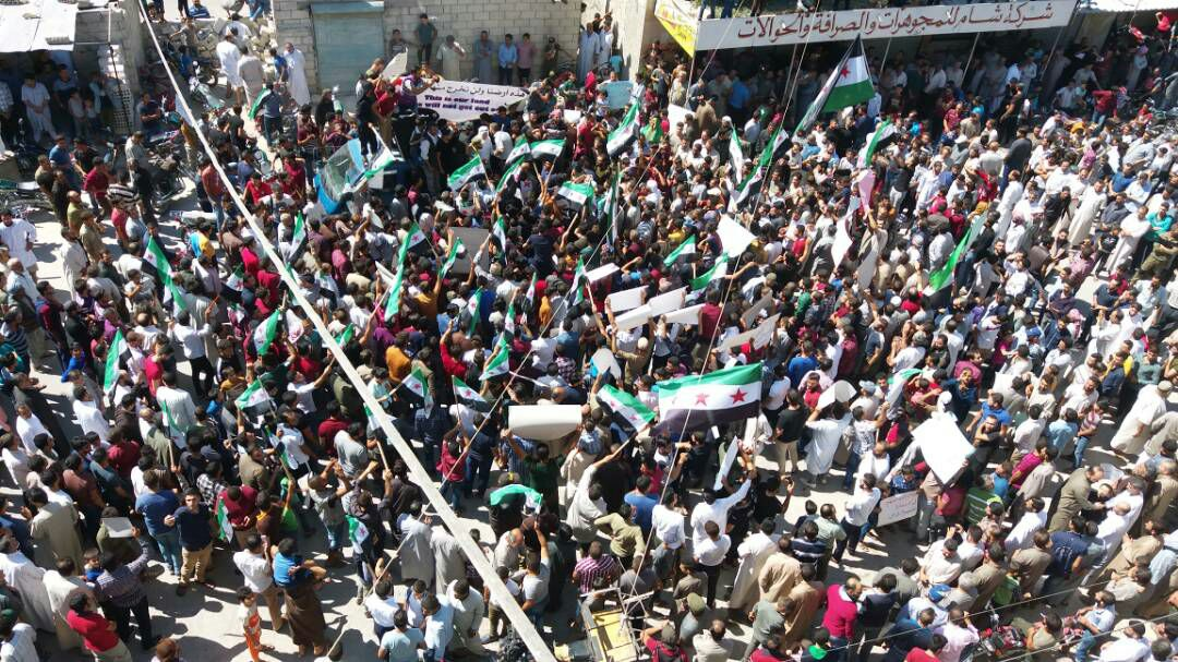 Syria Daily: 10,000s in Idlib Rallies Against Russia-Regime Offensive