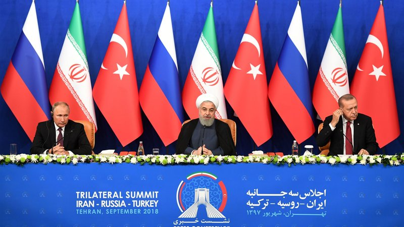 Syria Daily: Russia & Iran Split from Turkey in Summit Over Idlib