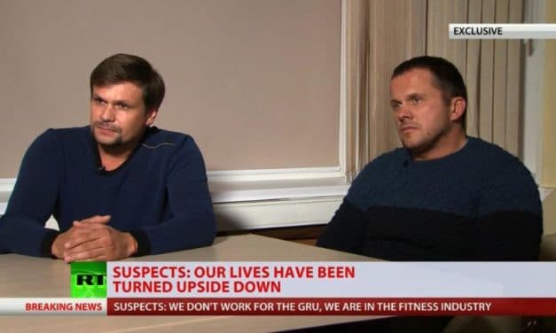 Podcasts: A Black Comedy Show — The Russians Who Visited Salisbury