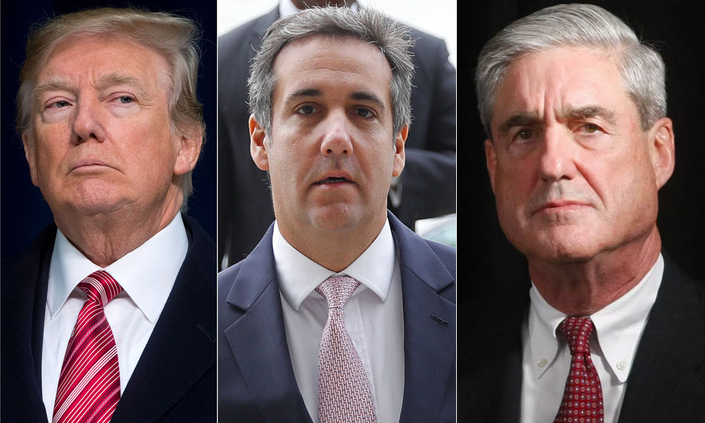 TrumpWatch, Day 609: Trump's Ex-Lawyer Cohen Cooperating with Russia Investigation