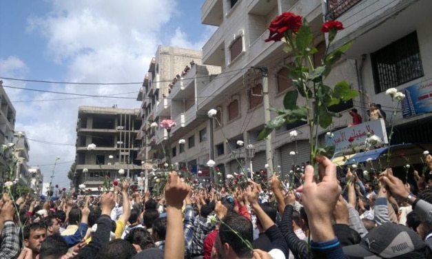 Roses v. Killing: Syria's Peaceful Protesters Erased by the Assad Regime