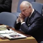 Syria Daily: UN Envoy De Mistura Resigning