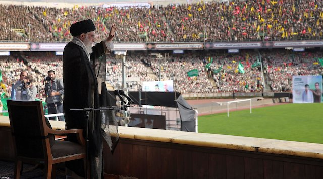 "Iran Daily: Supreme Leader — ""We Will Slap the US in the Face"""