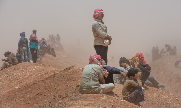 Russia Lies About 40,000+ Displaced Under Siege in Syria's Rukban Camp