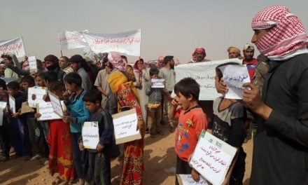 Syria Daily: Will Assad Regime Allow Aid to 50,000+ Displaced Near Jordan Border?