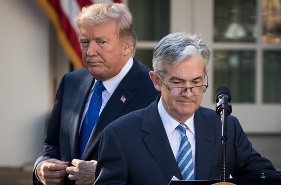 "TrumpWatch, Day 630: As Stocks Dive, Trump Attacks ""Loco"" Federal Reserve"