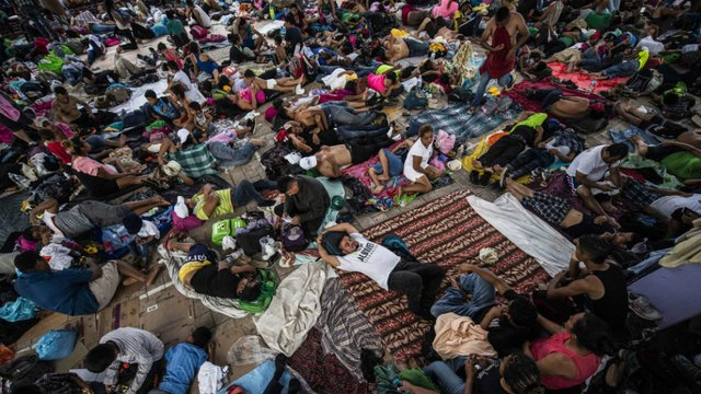 TrumpWatch, Day 650: Trump's Election — US Army v. Caravan with Women and Children