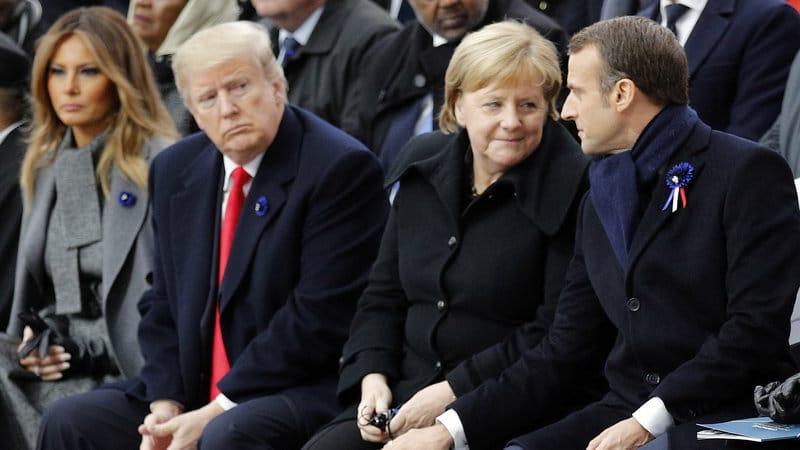 EA on CNN: Trump's Mad, Bad Visit to France
