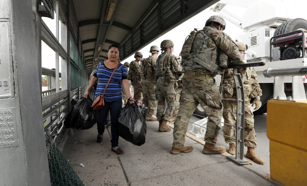 TrumpWatch, Day 652: Pentagon Rejects Law Enforcement Role for Troops on Border
