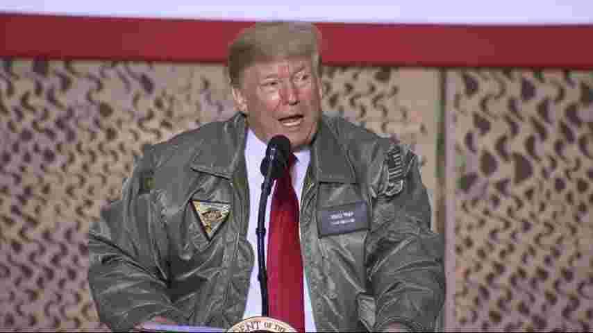 TrumpWatch, Day 706: Trump's PR Visit to Iraq