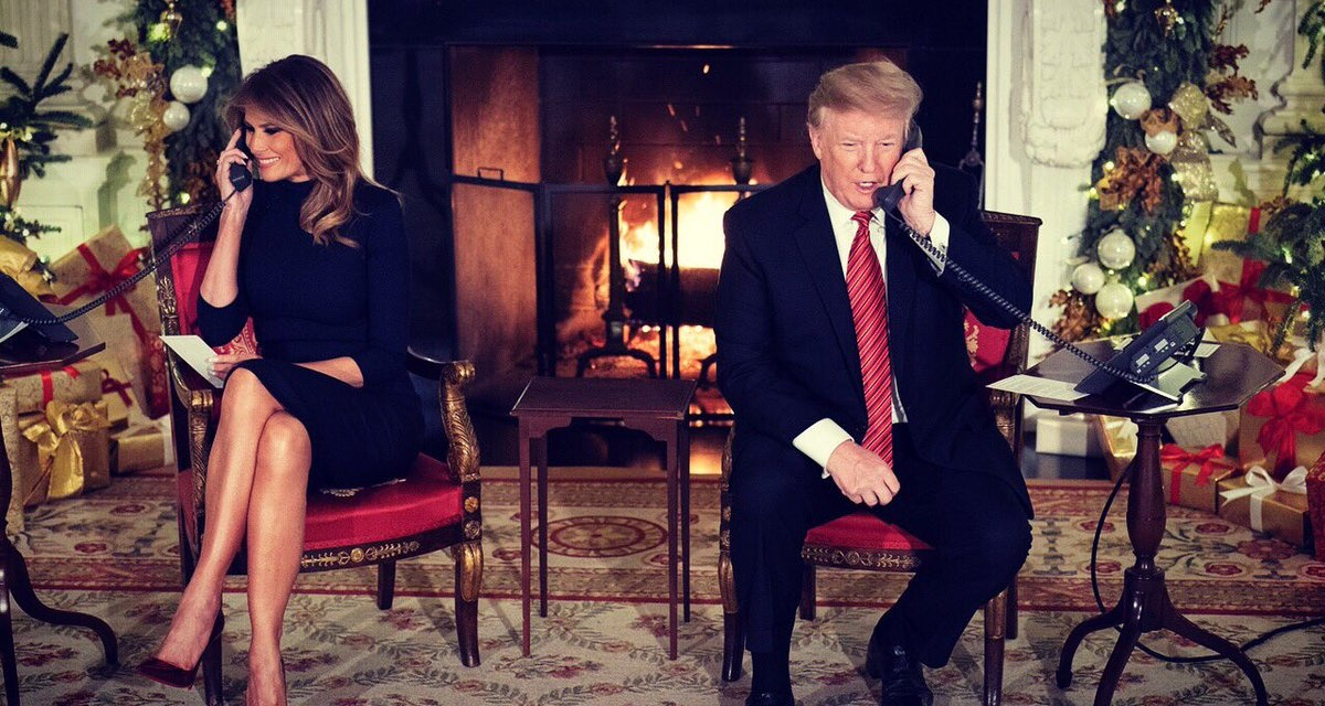 "TrumpWatch, Day 704: Trump's Christmas — ""All Alone (Poor Me)"""