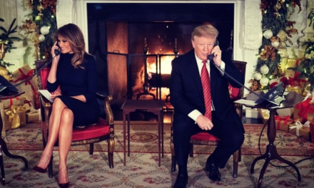 """TrumpWatch, Day 704: Trump's Christmas — """"All Alone (Poor Me)"""""""